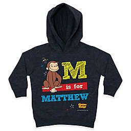 Curious George Chalkboard Pullover Hoodie in Charcoal