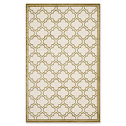 Safavieh Amherst Belle 5-Foot x 8-Foot Indoor/Outdoor Area Rug in Ivory/Light Green