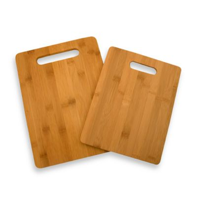 Bamboo Cutting Boards (Set of 2) | Bed Bath & Beyond on kitchen sink installation hardware, kitchen outlet covers, kitchen futuristic, kitchen cabinets, kitchen platter, hardwood lumber boards, kitchen frames, kitchen meat forks, kitchen spices, kitchen floor grout, kitchen prep sink, kitchen countertop inserts, kitchen countertop appliances, kitchen counter, kitchen countertop items, kitchen butler's pantry design ideas, kitchen microwave hoods, kitchen baskets, kitchen glass door refrigerator, kitchen island with stove and sink,