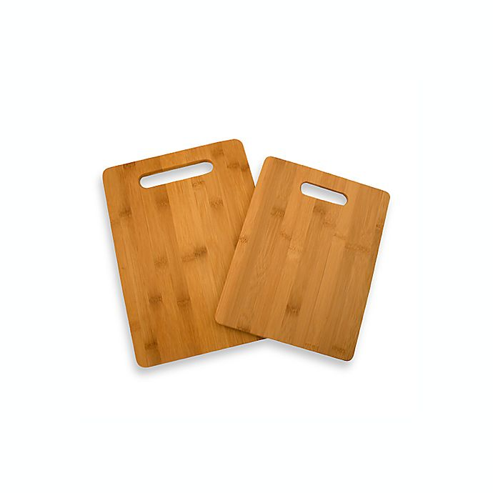 Alternate image 1 for Bamboo Cutting Boards (Set of 2)