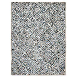 Safavieh Cape Cod Diamond Tiles 10-Foot x 14-Foot Area Rug in Blue