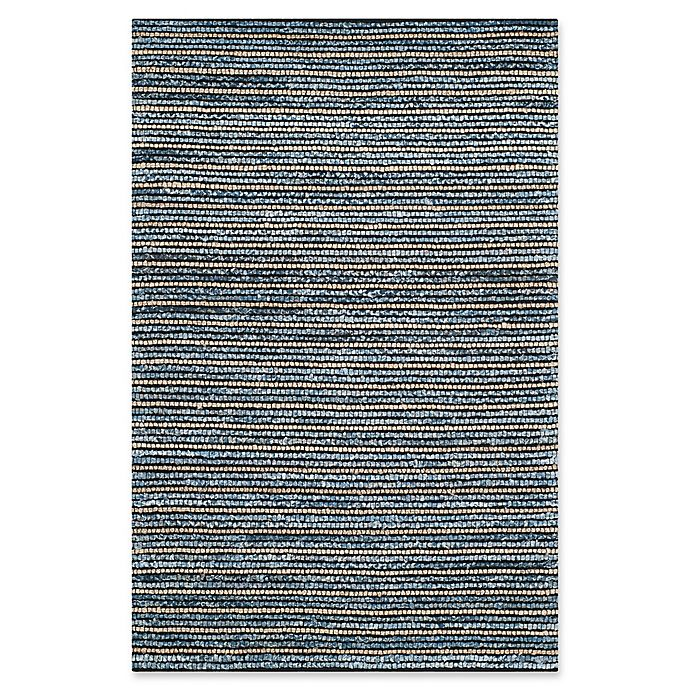 Alternate image 1 for Safavieh Cape Cod Horizontal Rug in Blue/Natural