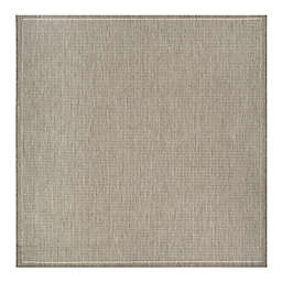 Couristan® Recife Saddlestitch 8-Foot 6-Inch Square Area Rug in Taupe