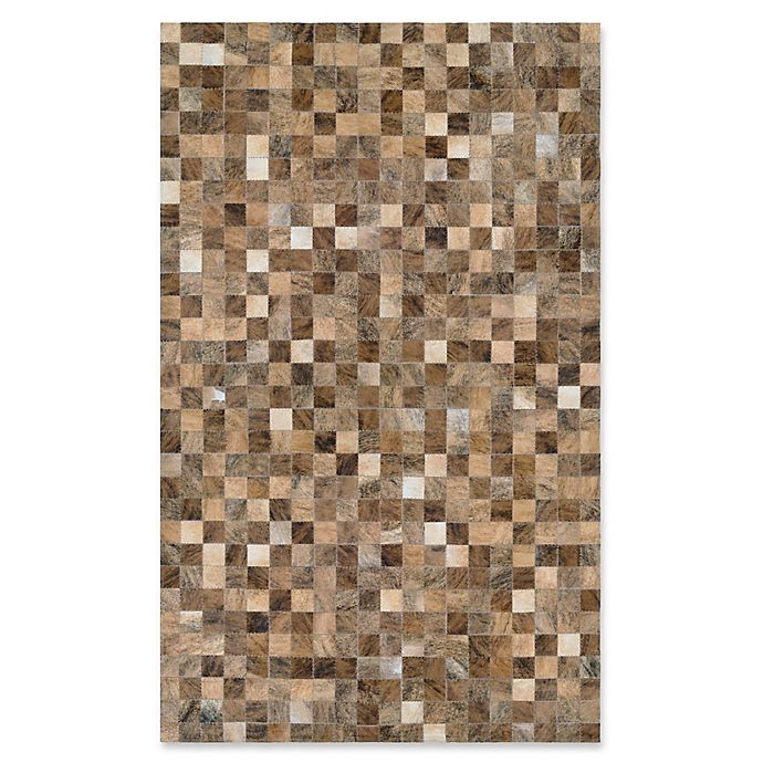 Alternate image 1 for Couristan® Chalet Pixels 9-Foot 4-Inch x 13-Foot 4-Inch Area Rug in Brown