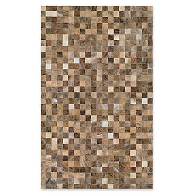 Couristan® Chalet Pixels 9-Foot 4-Inch x 13-Foot 4-Inch Area Rug in Brown