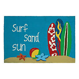 Couristan® Covington Accents Surf Sand Sun 2-Foot x 3-Foot Accent Rug