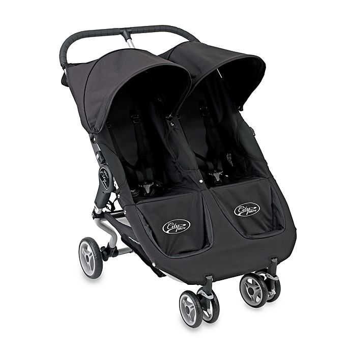 Baby Jogger City Micro Black Double Stroller Buybuy Baby