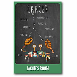 Courtside Market Cancer Zodiac Canvas Wall Art