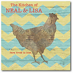 Courtside Market Country Kitchen I Canvas Wall Art