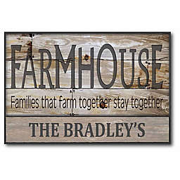 Courtside Market Farmhouse Canvas Wall Art