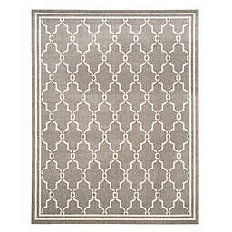Safavieh Amherst Quake 10-Foot x 14-Foot Indoor/Outdoor Area Rug in Dark Grey/Beige