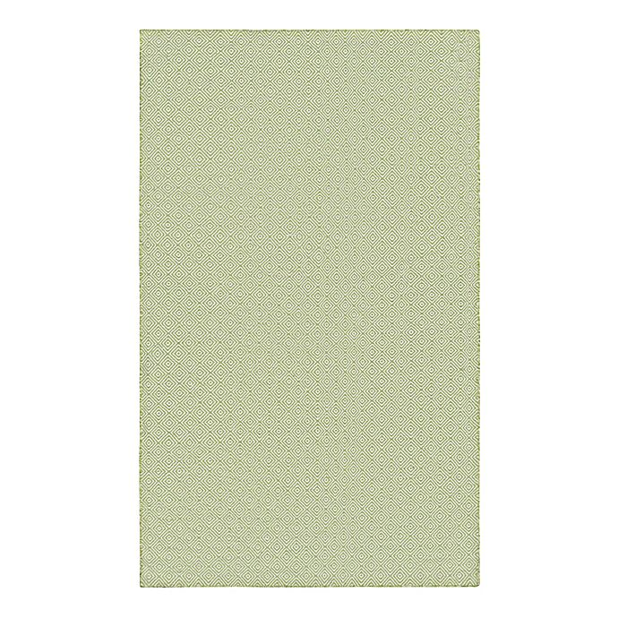 Alternate image 1 for Couristan® Cottages Manhasset 8-Foot x 10-Foot Indoor/Outdoor Area Rug in Green