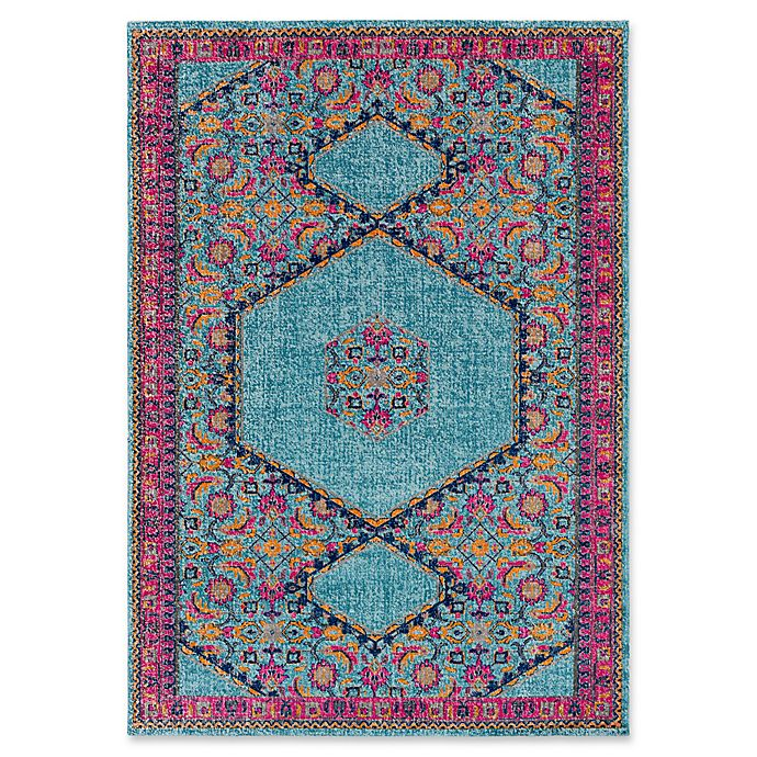 Alternate image 1 for Style Statements by Surya Ilia Rug in Aqua