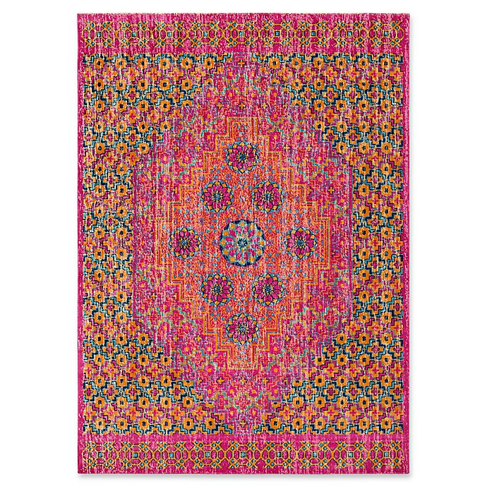 Alternate image 1 for Style Statements by Surya Etum Rug in Bright Pink