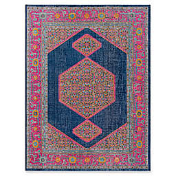 Style Statements by Surya Daphne Rug in Pink