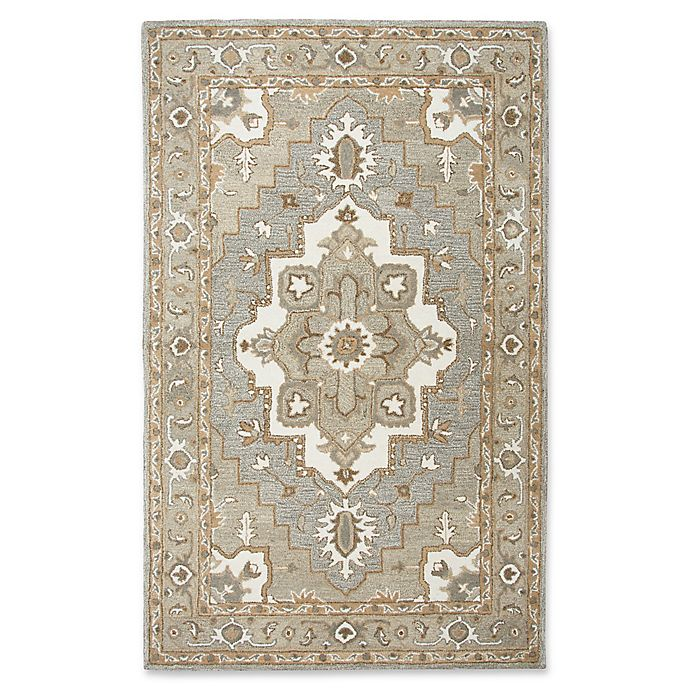 Alternate image 1 for Rizzy Home Suffolk Rug in Grey