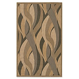 Couristan® Recife Seagrass Rug in Natural/Black