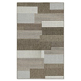 Couristan® Monaco Starboard Rug in Brown/Sand
