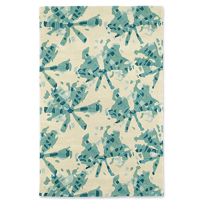Alternate image 1 for Kaleen Pastiche Webs 2-Foot 3-Foot Accent Rug in Turquoise