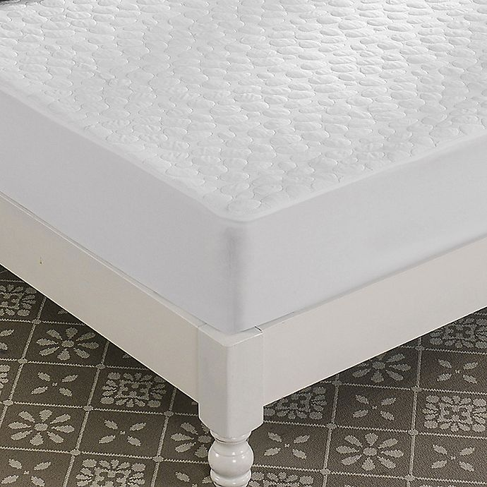 Alternate image 1 for Greenzone Tencel Pebbletex™ Mattress Protector