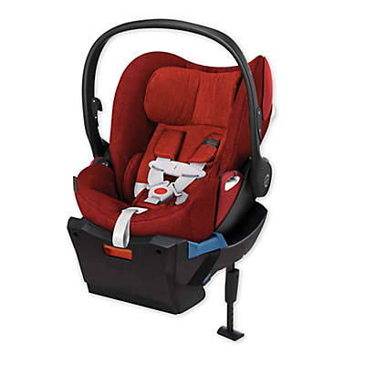 Cybex Platinum Cloud Q Plus Infant Car Seat with Load Leg Base in Hot & Spicy Denim