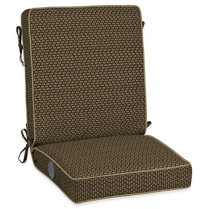 Alternate image 1 for Bombay® Outdoors Rhodes Adjustable Comfort Chair Cushion in Brown