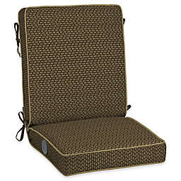 Bombay® Outdoors Rhodes Adjustable Comfort Chair Cushion in Brown