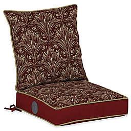 Bombay® Royal Zanzibar 42-Inch x 21-Inch Outdoor Adjustable Comfort Dining Seat Set in Berry
