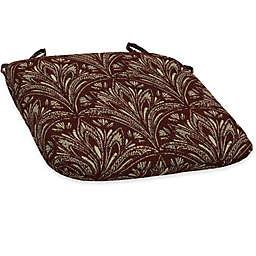Bombay® Royal Zanzibar 15.5-Inch x 16-Inch Outdoor Bistro Cushion in Berry
