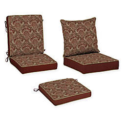Bombay® Venice Outdoor Cushion Collection in Red