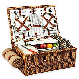 Picnic At Ascot Dorset Basket for 4 with Blanket