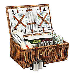 Picnic At Ascot Dorset Basket for 4 with Coffee Service
