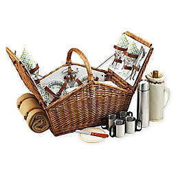 Picnic At Ascot Huntsman Basket for 4 with Coffee & Blanket