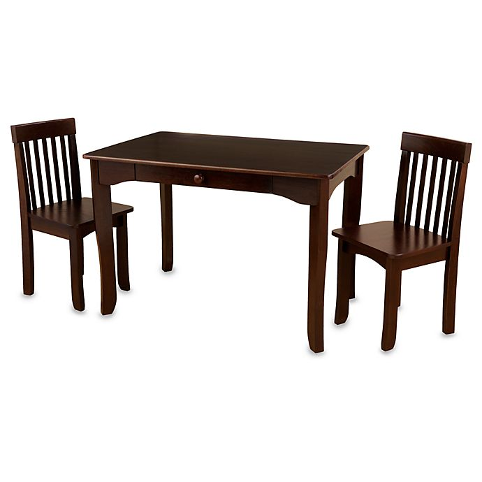 Kids Table And Chairs Set Espresso: KidKraft® Avalon Table & Chair Set In Espresso