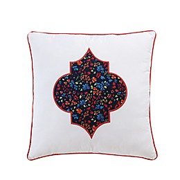 VCNY Inspire Me Floral Medallion Square Throw Pillow