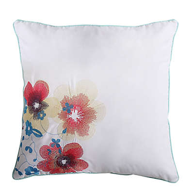 VCNY Inspire Me Flower Square Throw Pillow