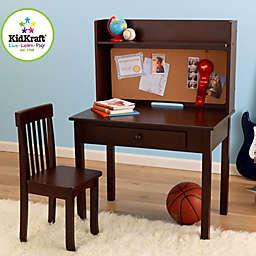 KidKraft® Pin Board Desk & Chair in Espresso