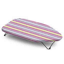 Bonita™ Multi Stripes Mini Tabletop Ironing Board