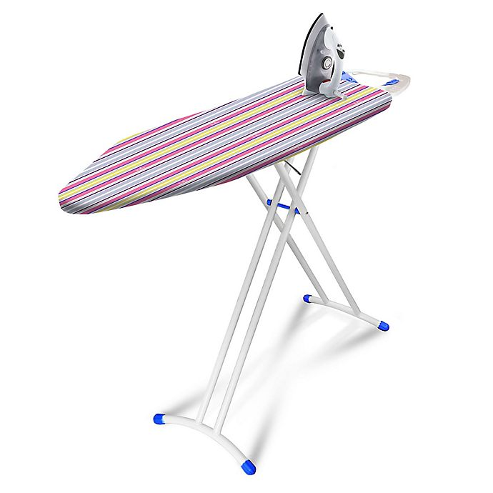 Alternate image 1 for Bonita™ Multi Stripes Joy+ Ironing Board