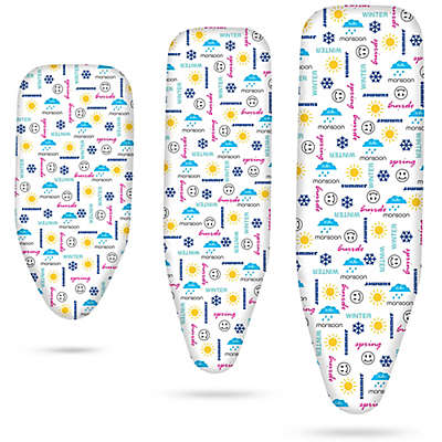 Bonita Seasons Text Ironing Board Cover
