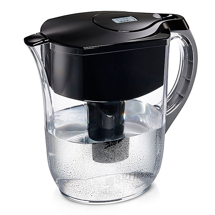 Alternate image 1 for Brita® 10-Cup Grand Pitcher in Black
