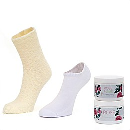 Footnanny Foot Treatment Rose Set