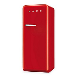 SMEG 9.22 cu. ft. '50s Style Left Hinge Refrigerator/Ice Compartment Top