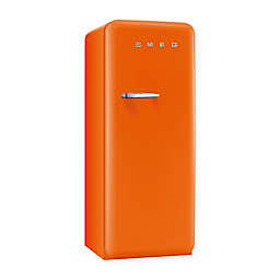 Smeg 9.22 cu. ft. '50s Style Right Hinge Refrigerator/Ice Compartment Top