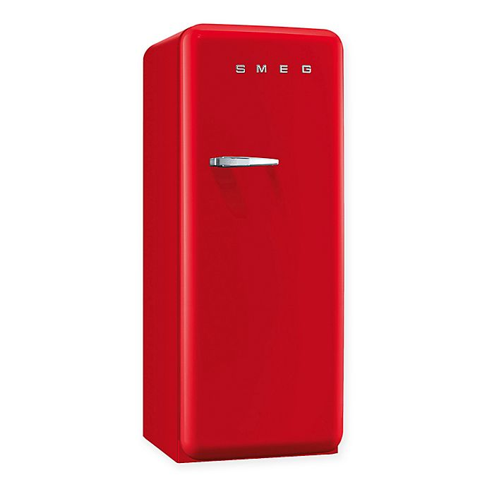 Alternate image 1 for Smeg 9.22 cu. ft. '50s Style Right Hinge Refrigerator/Ice Compartment Top