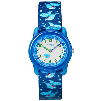 Timex® Time Machines Children's 28mm Shark Watch in Blue
