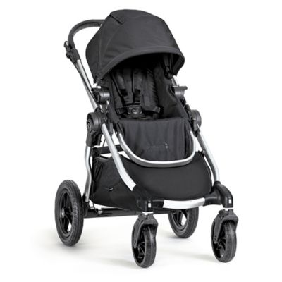 Baby Jogger 174 City Select 174 Single Stroller In Onyx Silver