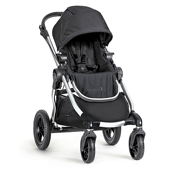 Alternate image 1 for Baby Jogger® city select® Single Stroller in Onyx/Silver