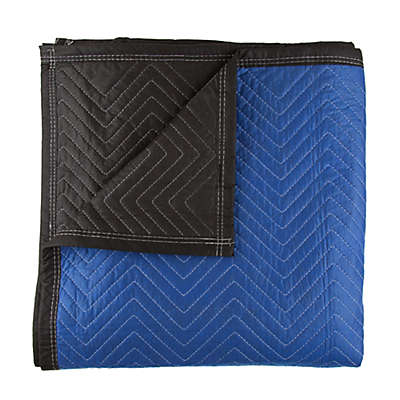 Jaipur 72-Inch x 80-Inch Padded Moving Blanket in Blue/Black
