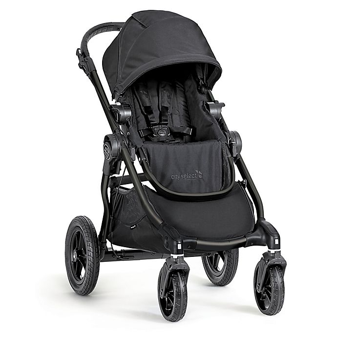 Alternate image 1 for Baby Jogger® city select® Single Stroller in Black/Black